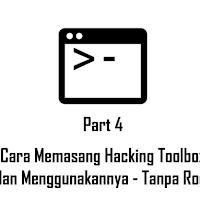 Cara Menggunakan Termux untuk Pemula, Part 4 : Cara Memasang Hacking Toolbox, dan Menggunakannya (Lazymux) - Tanpa Root