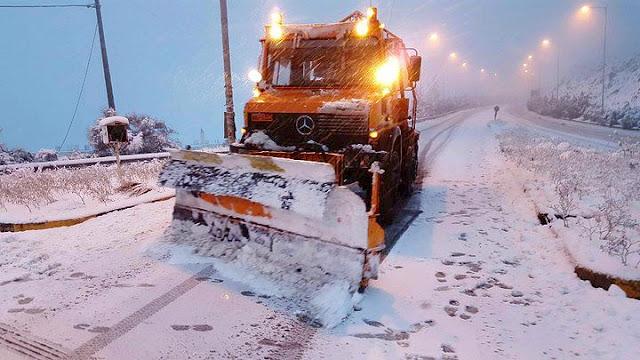 """Έρχεται παγωμένη η """"Ζηνοβία"""" - Χιόνια από το Σάββατο"""