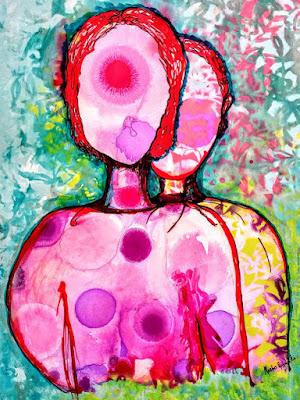 Sibling Rilvary  Abstract Art  Miabo Enyadike
