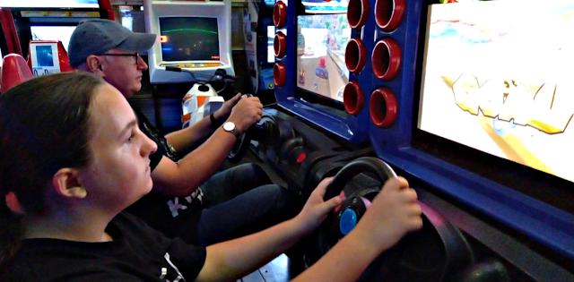 Car racing game