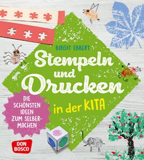 """Cover zu """"Stempeln und Drucken in der Kita"""" (eine Rezension)"""