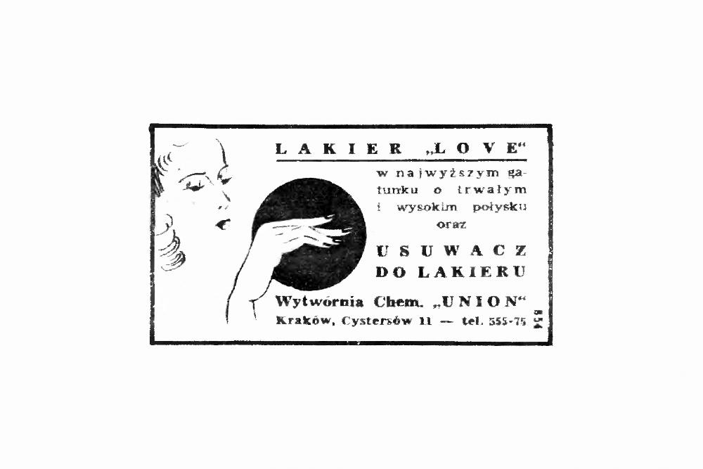 "Retro :: Lakier ""Love"" i usuwacz"