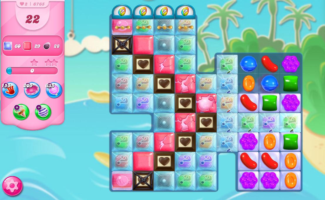 Candy Crush Saga level 6765