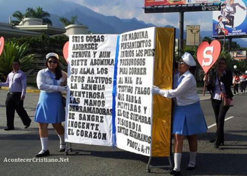 Celebración del Día Nacional de la Biblia en Honduras
