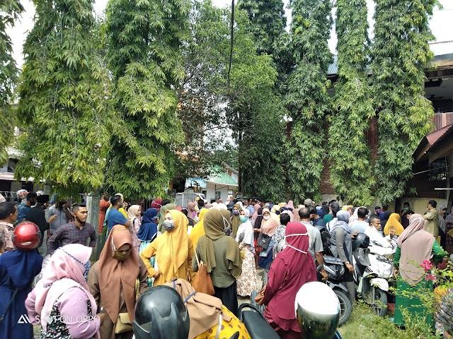Peserta UMKM Di Dinas Koperasi Pemerintah Kabupaten Aceh Utara Membludak