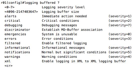 PacketFlow I/O: Mnemonic: Syslog Severity Levels