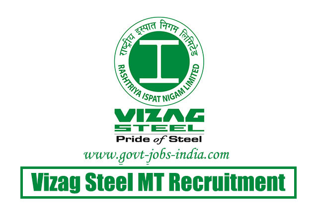 Vizag Steel MT Recruitment 2020 – 11 Management Trainees Vacancy – Last Date 10 August 2020