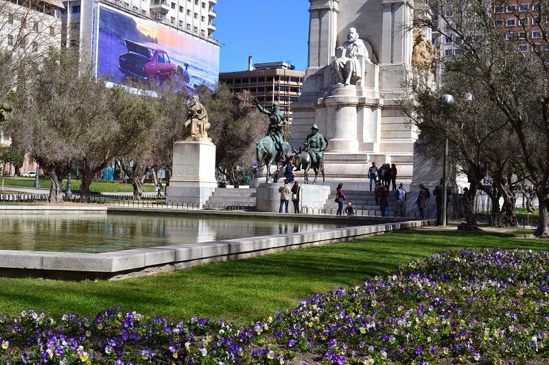 Gran Via, Madrid, Espagne, Plaza d'Espagne
