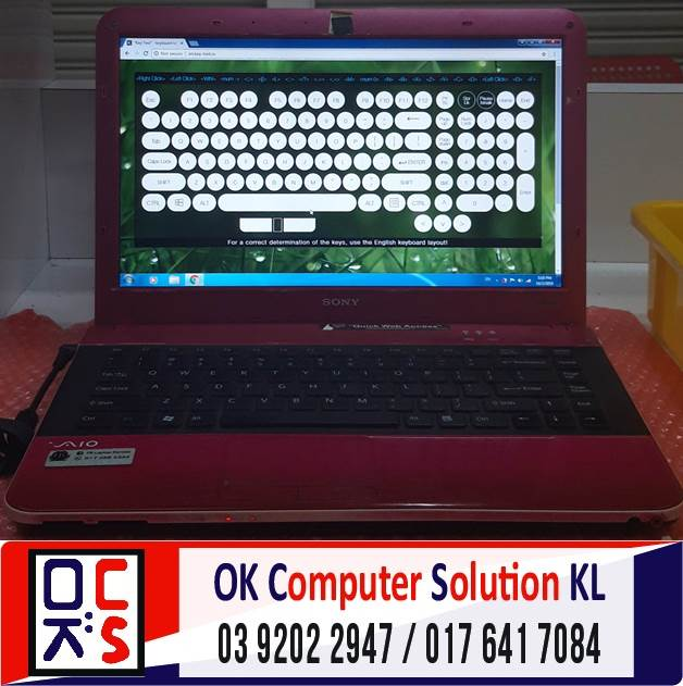 [SOLVED] PROBLEM SCREEN SONY VAIO VPCEA16FG | REPAIR LAPTOP CHERAS 5