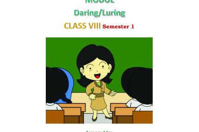 Modul Bahasa Inggris Kelas 8 SMP/ MTs untuk Daring / Luring