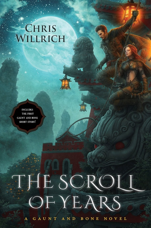 Interview with Chris Willrich, author of The Scroll of Years (A Gaunt and Bone Novel) - September 11, 2013