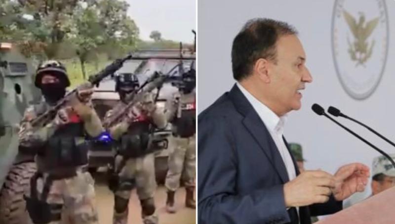 El CJNG reta al estado mostrando fuerza y el Secretario de Seguridad Alfonso Durazo responde que es montaje