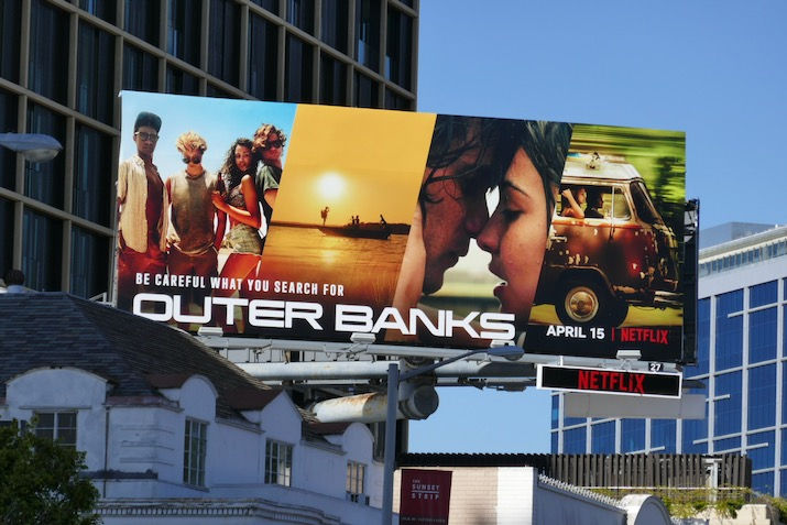 Outer Banks series premiere billboard