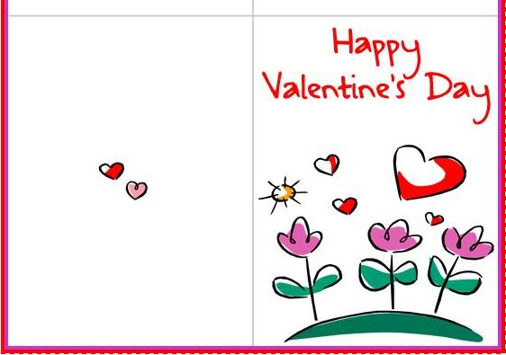 printable valentines day cards - 2018 free printable valentine, Ideas