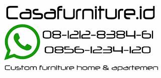 Jasa pembuatan furniture apartemen murah Jakarta, lemari dan kitchen set murah apartemen