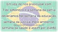 Frases do Brasil para Refletir