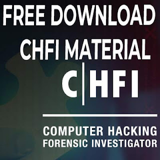 CHFI Certification Course Material Free Download All Modules
