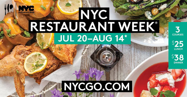 Eating Fabulously, Christopher Stewart, NYC, Restaurant Week,
