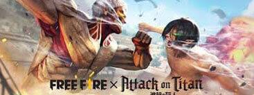 إعلان شركة Garena عن حدث تعاون Free Fire و attack on titan