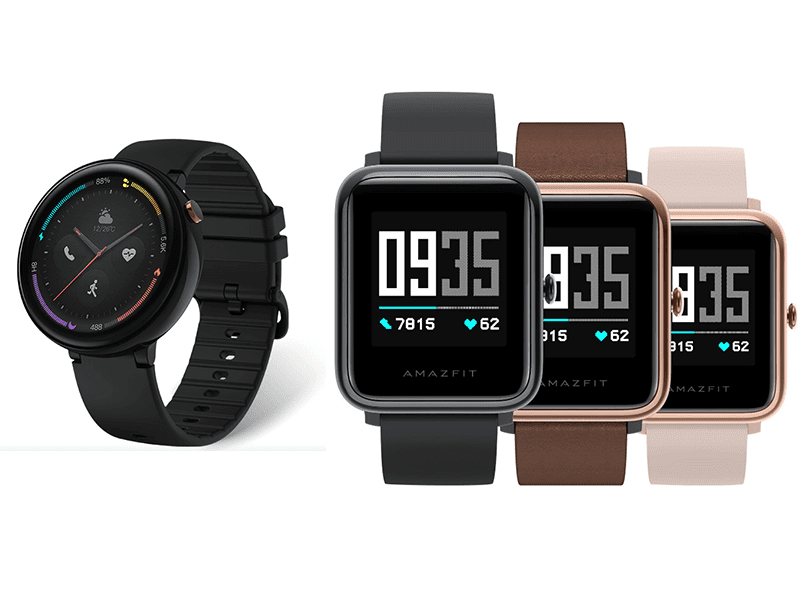 Xiaomi's Amazfit announces two new smartwatches!