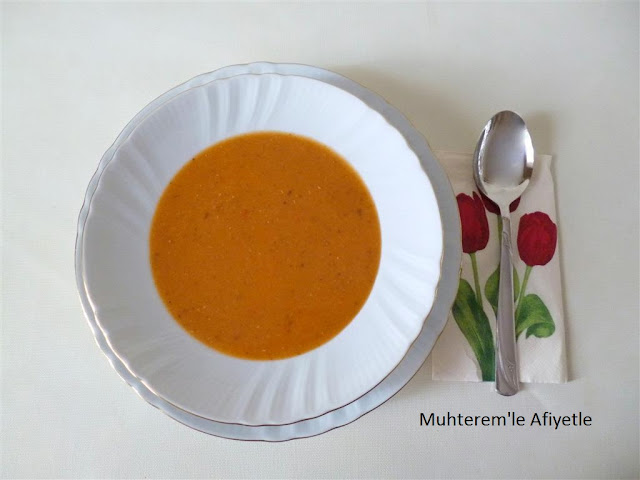 iftar için çorba tarifi