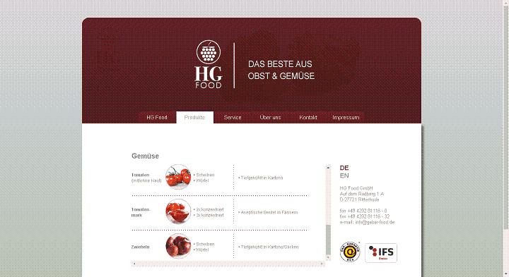 almanya'ya salça ithal eden firmalar, deutschland tomatanmark Importeur HG Foods