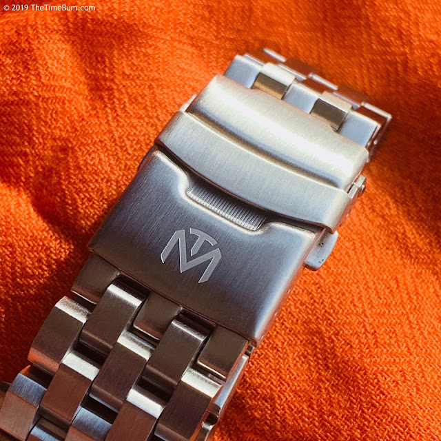 McDowell Time Tidewater clasp