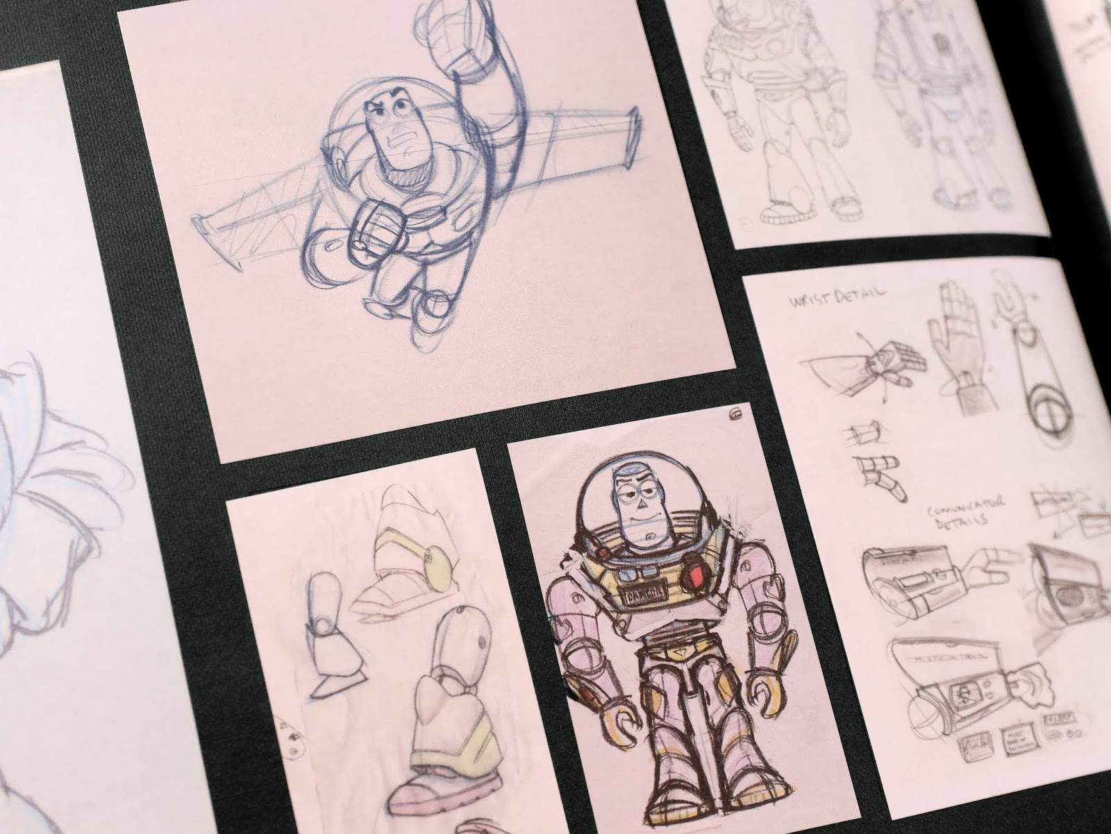 d23 expo 2019 pixar backstage toy story sketchbook