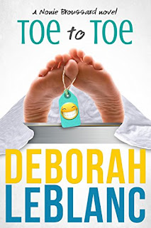 Toe to Toe (Nonie Broussard Ghost Tracker Series Book 1) by Deborah LeBlanc