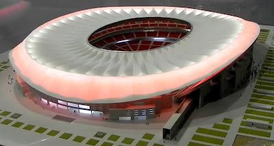Estadio de La Peineta Nuevo Estadio del Club Atlético de Madrid new stadium