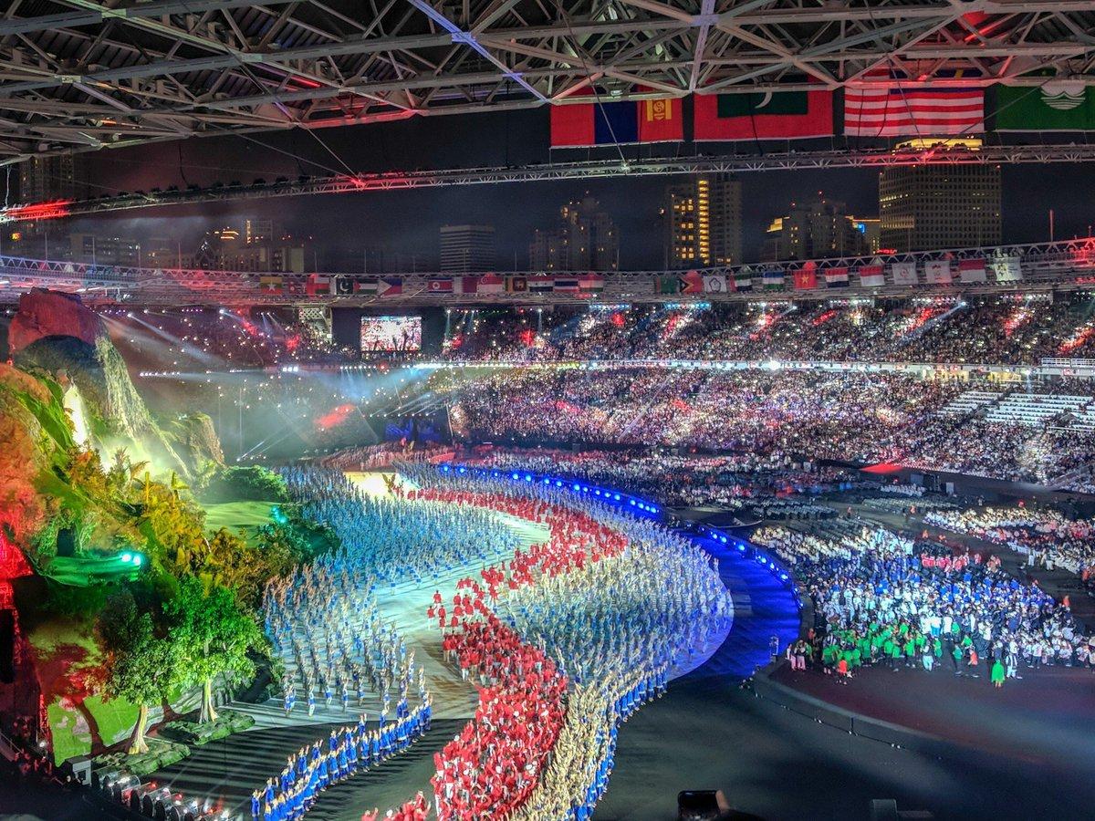 Pembukaan Asian Games 2018 Jadi Sorotan Dunia