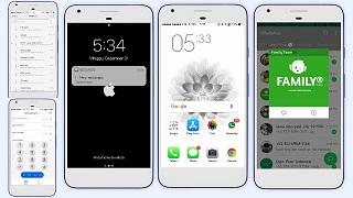 Tema iOS White Full Mod untuk Oppo