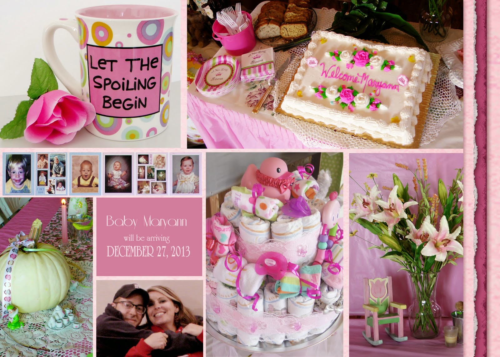 A Shabby Chic Baby Shower!