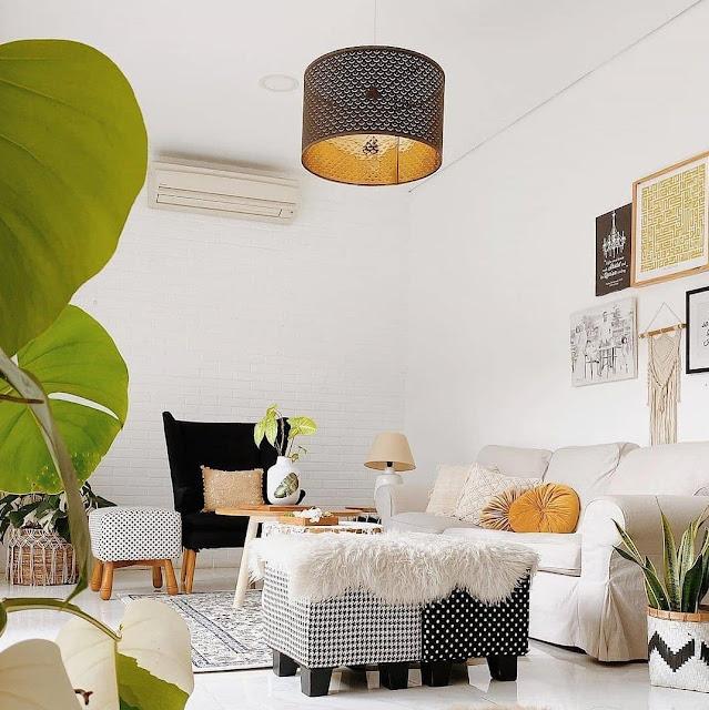 Inspirasi Desain Ruang Tamu Sederhana tapi Elegan Lagi Trend