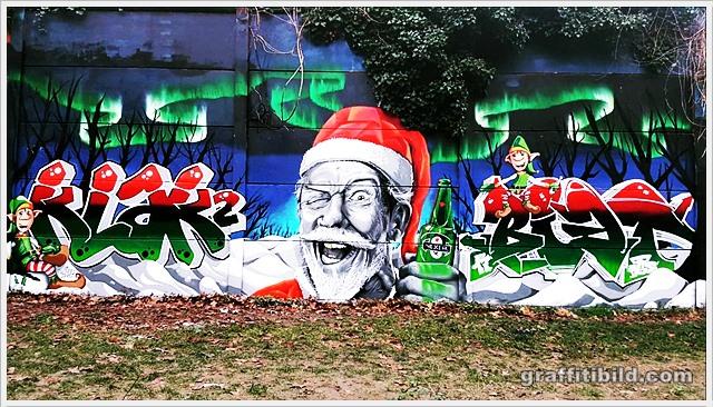 Merry Christmas Graffiti 2019