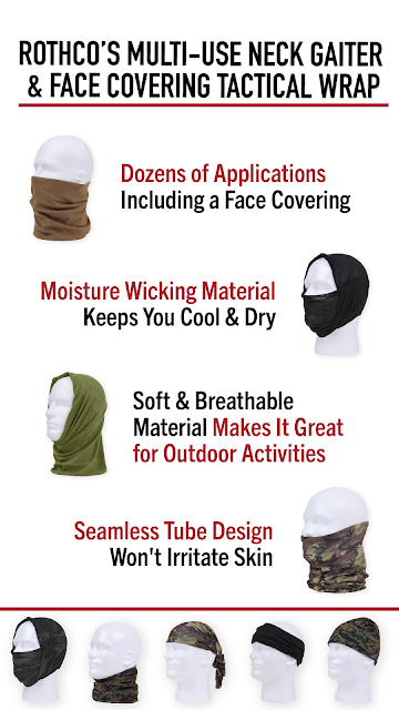 It s A Face Mask, Balaclava, Neck Gaiter, Headband and More!