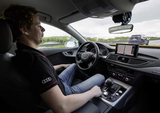 Audi A7 de condução autônoma