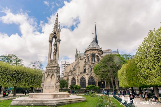 france, Honeymoon, Paris, review, ฝรั่งเศส, รีวิว, ฮันนีมูน, Notre Dame