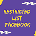 Facebook Restricted Friend Mean