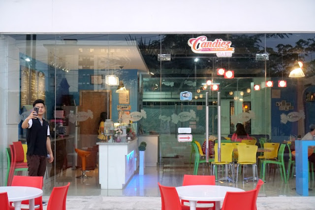 Candiez Cafe, Cafes in Mandaue, Matcha Latte, Coffee shops in Cebu, Kalami Cebu, Cebu Food Blog, Filipino Food Blogger