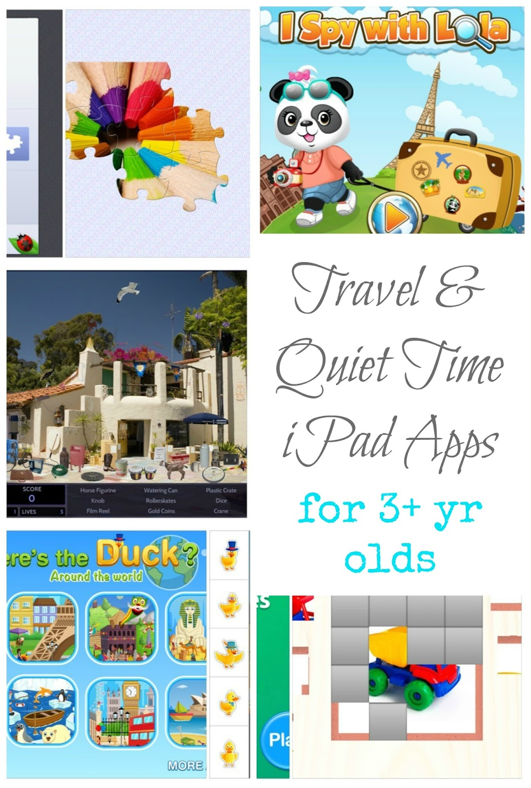 The Practical Mom: Travel & Quiet Time iPad Apps for Ages 3+