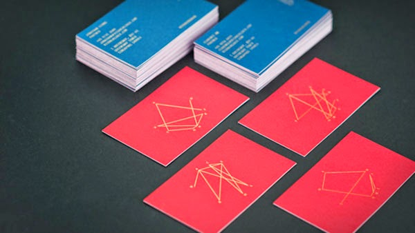 16 Gold Foil Business Cards that Stand Out from the Pack ...