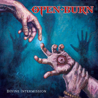 "Το τραγούδι των Open Burn ""Drawing Lines"" από το album ""Divine Intermission"""