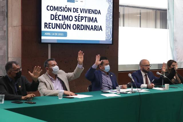 Avala Comisión de Vivienda reformas a la Ley del Infonavit