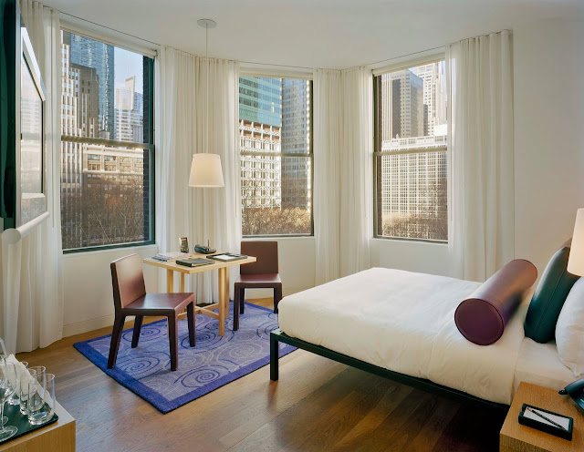 The Bryant Park Hotel in New York has emerged as a Designer Luxury Hotel receiving countless awards for service and accommodations.