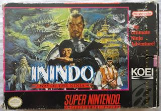 Inindo - Way of the Ninja - Caja delante
