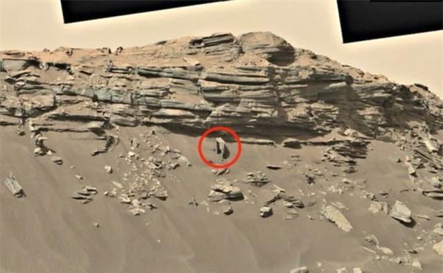 Phát hiện công trình nhân tạo trên sao Hỏa của người ngoài hành tinh