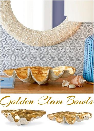 Golden Clam Bowls