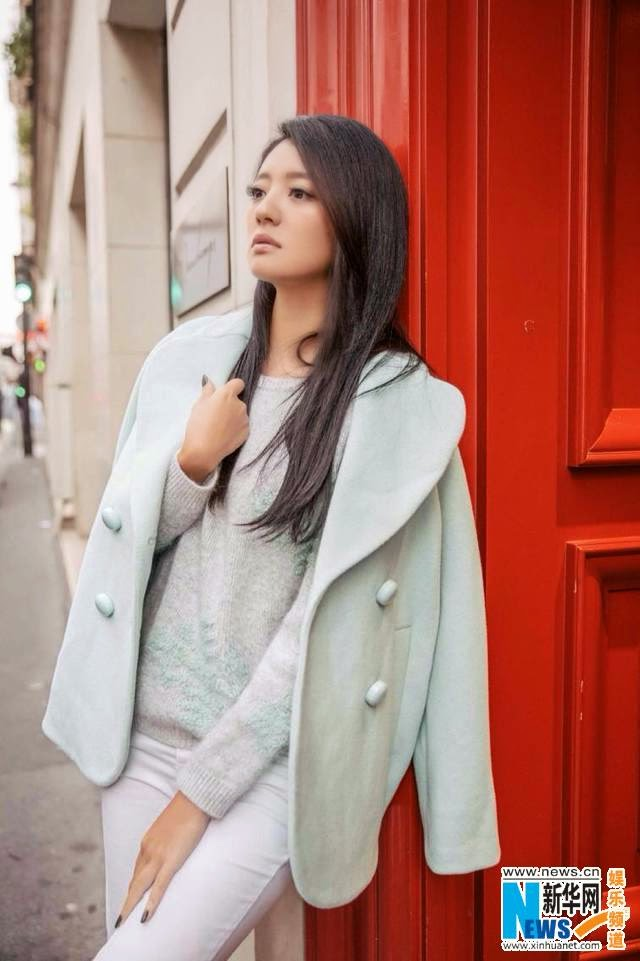 [Photoshoot] Taiwanese actress Ady An in France ...  Ady An 2014