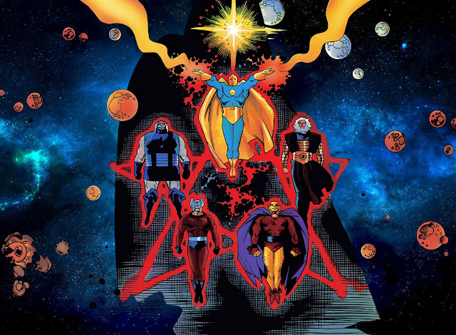 cosmic odyssey comic